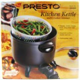 National Presto 06000 Presto Kitchen Kettle Electric Multi-Cooker And Steamer
