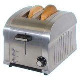 Haier TST850DS Die-Cast Stainless-Steel 2-Slice Toaster