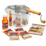 The Original whirley-pop Stovetop Popcorn Popper Gourmet Set