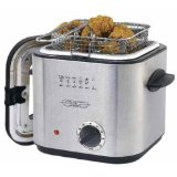 Sensio 13373 Bella Cucina 1-1/5-Quart Stainless-Steel Deep Fryer