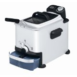 T-Fal FR7008002 Ultimate EZ Clean Pro-Fryer Stainless-Steel 2-2/3-Pound Deep Fryer