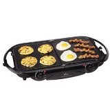 Rival GRF405 Fold-n-Store Griddle