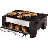 DeLonghi BQ100 Indoor Grill and Smokeless Broiler