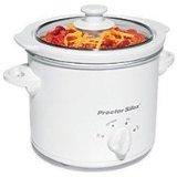 Proctor Silex 33015 1.5-Quart Round Slow Cooker