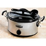 Hamilton Beach 33162H Stay Or Go 6 Quart Slow Cooker
