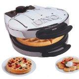 Waffle Maker V001-20120 UNO Reversible Heart Waffler / Belgian Waffler