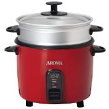 Aroma ARC-717-1NGR Pot Style Non-Stick Rice Cooker and Food Steamer