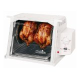 Ronco™ ST3001WHGEN Compact Showtime™ Rotisserie and BBQ