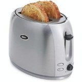Oster Brushed Stainless Steel 2 Slice Toaster