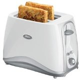 Oster 2 Slice White Toaster