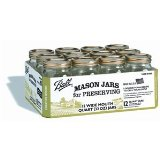 Ball 1 Quart Wide-Mouth Mason Canning Jar