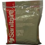 Sanitaire 62100 Style UP-1 High Filtration Vacuum Bags
