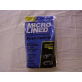 DVC Micro-Lined Electrolux Canister Vacuum Cleaner Bags