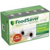 FoodSaver 6-Roll Packaging Rolls