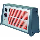 Optimus H-2230 Portable Fan-Forced Radiant Heater with Thermostat