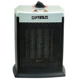 Optimus H-7008 Portable Ceramic Heater with Thermostat