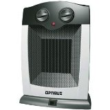 New Optimus H-7248 Portable Oscillating Ceramic Heater