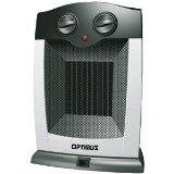 New Optimus H-7248 Portable Oscillating Ceramic Heater