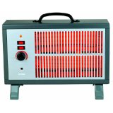 Optimus H-2200 Portable Fan-Forced Radiant Heater with Thermostat