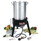 Bayou Classic 3066A 30-Quart Outdoor Turkey Fryer Kit