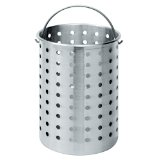 Bayou Classic B300 Perforated Steam, Boil, Fry Accessory Basket.  Fits 30-Quart Bayou Classic Turkey Fryers