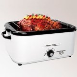 Hamilton Beach 32182 18-Quart Roaster Oven with Buffet Pans