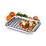 Norpro 17x12 Stainless Steel Broil and Roast Set