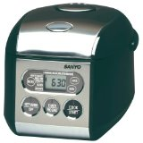 Sanyo 3-1/2 Cup Micro-Computerized Rice Cookers/Warmers with Bread-Baking Functions
