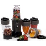 Maxi-Matic EPB-1800 Elite Cuisine Powerful 300-Watt 17-Piece Personal Blender