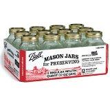 Jarden #62000 Ball 12PK Quart Mason Jar