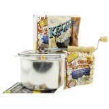 Whirley-Pop Gourmet Assorted Gift Set with Stovetop Popcorn Popper