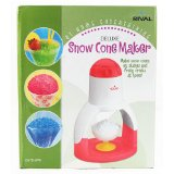 Rival IS475-WPK Deluxe Ice Shaver / Snow Cone Maker