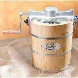 Aroma Housewares Model AIC-304EM - 4 Quart Ice Cream Maker