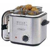 Sensio 13373 Bella Cucina 1-1/5-Quart Stainless-Steel Deep Fryer