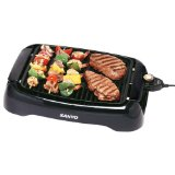 Sanyo HPS-SG2 Indoor barbecue Grill with 120-Square-Inch Nonstick Cooking Surface
