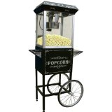 Maxi-Matic Elite Old Fashioned Popcorn Trolley with Accessories