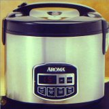 Aroma ARC-960SB 10-Cup Cool Touch Digital Programmable Rice Cooker