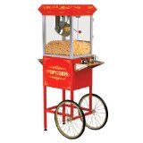 Maxi-Matic Elite EPM-400 Old Fashioned Popcorn Trolley with Accessories