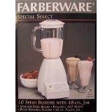 Farberware FSB100 10 Speed Blender in White