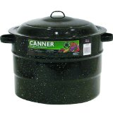 Granite Ware 21-1/2-Quart Covered Preserving Canner with Rack
