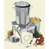 Bayou Classic 1195 Stainless-Steel 32-Quart Turkey-Fryer Kit