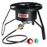 Bayou Classic SP10 High-Pressure Outdoor Propane Gas Cooker