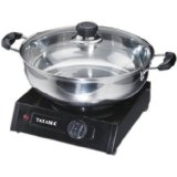Tayama THP-2BA Hot Plate Steamboat with Pot